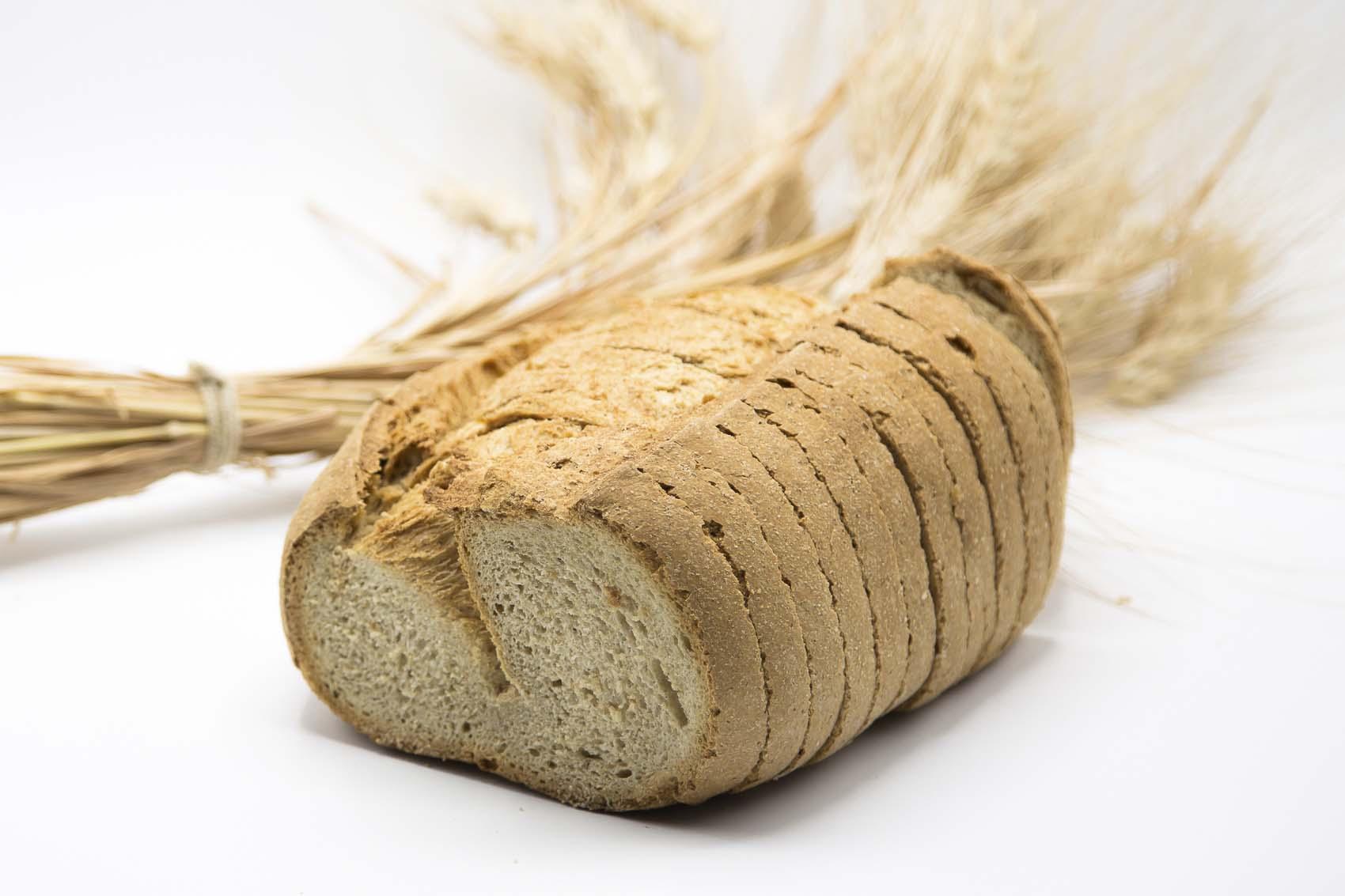 Pan moreno cortado